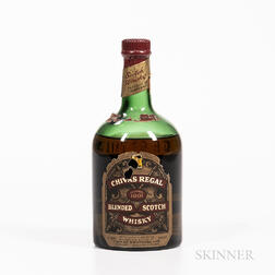 Chivas Regal 12 Years Old, 1 4/5 quart bottle Spirits cannot be shipped. Please see http://bit.ly/sk-spirits for more info.