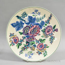 Large Wedgwood Floral Ceramic Charger