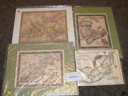 Group of Seven 18th and 19th Century Maps Related to Canada