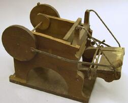 Patent Model of a Printing Press