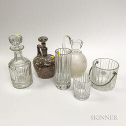 Group of Glass Tableware