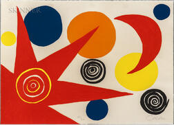 Alexander Calder (American, 1898-1976)      Untitled (Sun and Moon)