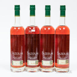 Buffalo Trace Antique Collection Sazerac 18 Years Old, 4 750ml bottles