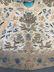 Embroidered Informal Dragon Robe