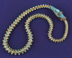 Victorian Turquoise, Diamond and Gem-set Necklace