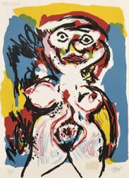 Karel Appel (Dutch, 1921-2006)      Nu