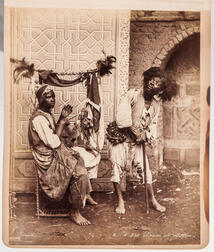 Europe, Palestine, Syria, Africa, Photo Album, 1894-1900.