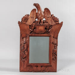 Carved Patriotic Frame