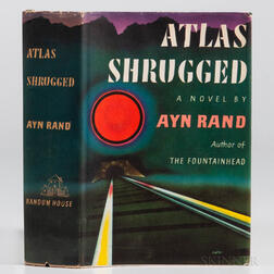 Rand, Ayn (1905-1982) Atlas Shrugged  , First Edition.