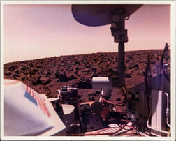 Viking 2, Mars, Three Color Photographs.