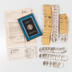 Sixty-eight Morgan and Seventeen Peace Dollars