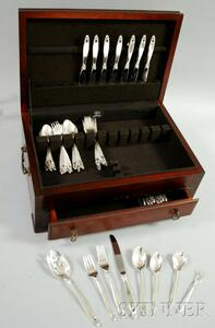 Lunt Sterling Silver Partial Flatware Set for Eight