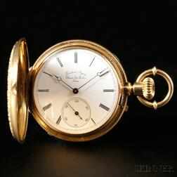 Frederic Lagne 18kt Gold and Enamel Watch