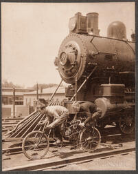 Motorcycle Photographs, Three Early Examples.