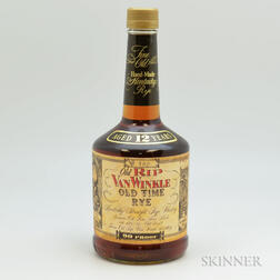 Old Rip Van Winkle Old Time Rye 12 Years Old, 1 750ml bottle