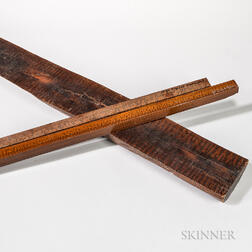 Snakewood Half Log and Two Billets