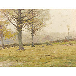 Chauncey Foster Ryder (American, 1868-1949)  Among New Hampshire Hills