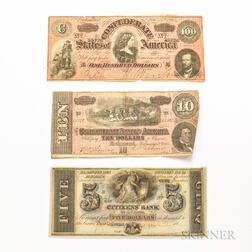 Small Group of Obsolete and Fractional Currency
