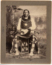 Large Photograph of Sac Fox Eagle Chief