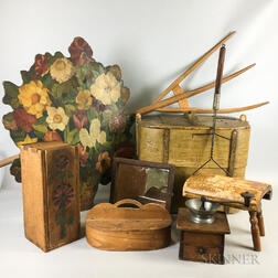 Group of Country Decorative Items