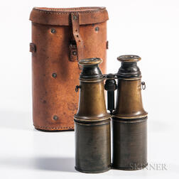 Pair of 19th Century Presentation Binoculars