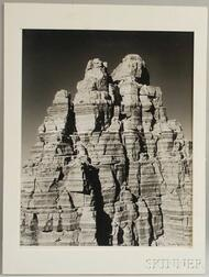 Washburn, Bradford (1910-2007) Vishnu Temple, Grand Canyon.
