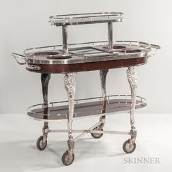 Three-tier Serving Trolley