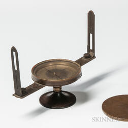 18th Century New England Surveying Compass