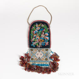 Upper Great Lakes Beaded Bag