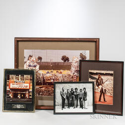Framed Images of J. Geils Band