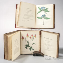 Barton, William Paul Crillon (1786-1856) A Flora of North America. Illustrated by Coloured Figures, Drawn from Nature.