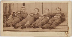 Photograph of Four Members of the Dalton Gang