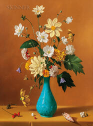 Fernand Renard (French, 1912-1990)      Still Life with Flowers