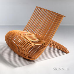 Mark Newson for Cappellini Beech Bentwood Chair