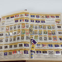Three Albums of Stamps