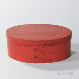 Shaker Red-painted Pantry Box