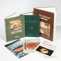 Viking Program, Mars, Three Books and Other Material.
