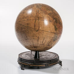 Ellen Fitz 12-inch Globe Manufactured by the Ginn Brothers