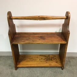 Maple Two-tier Bucket Bench