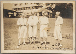 Cobb, Ty (1886-1961) Signed Photograph.