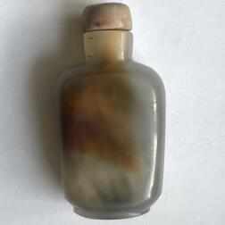 Five Jade/Hardstone Snuff Bottles