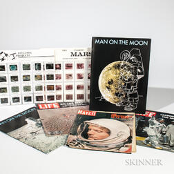 Space Exploration and NASA, Collection of Color Slides and Periodicals.