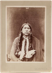 Cabinet Card Photo of Chief Quanah Parker
