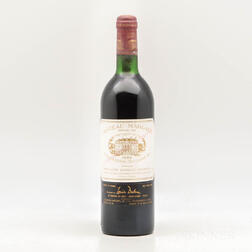 Chateau Margaux 1982, 1 bottle
