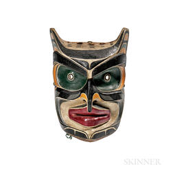 Northwest Coast Polychrome Mask