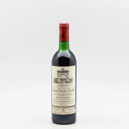 Chateau Leoville Las Cases 1981, 1 bottle