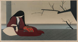 Will Barnet (American, 1911-2012)      Madame Butterfly