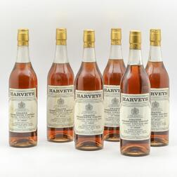 Harveys Frapin Grand Champagne Cognac 1943, 6 24oz bottles