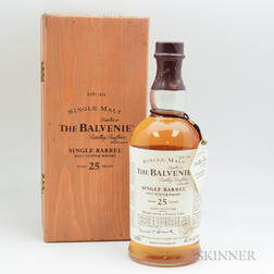 Balvenie Single Barrel 25 Years Old 1978, 1 750ml bottle (owc)