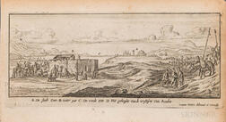 Peeters, Johannes (1624-1677) Engraved Views of the Middle East and Holy Land, Sixteen Examples.